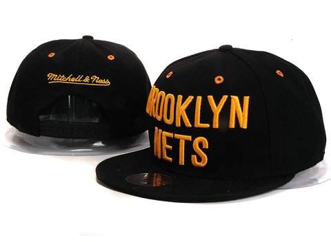 Brooklyn Nets NBA Snapback Hat YS279